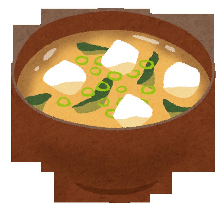 イラスト 味噌汁
