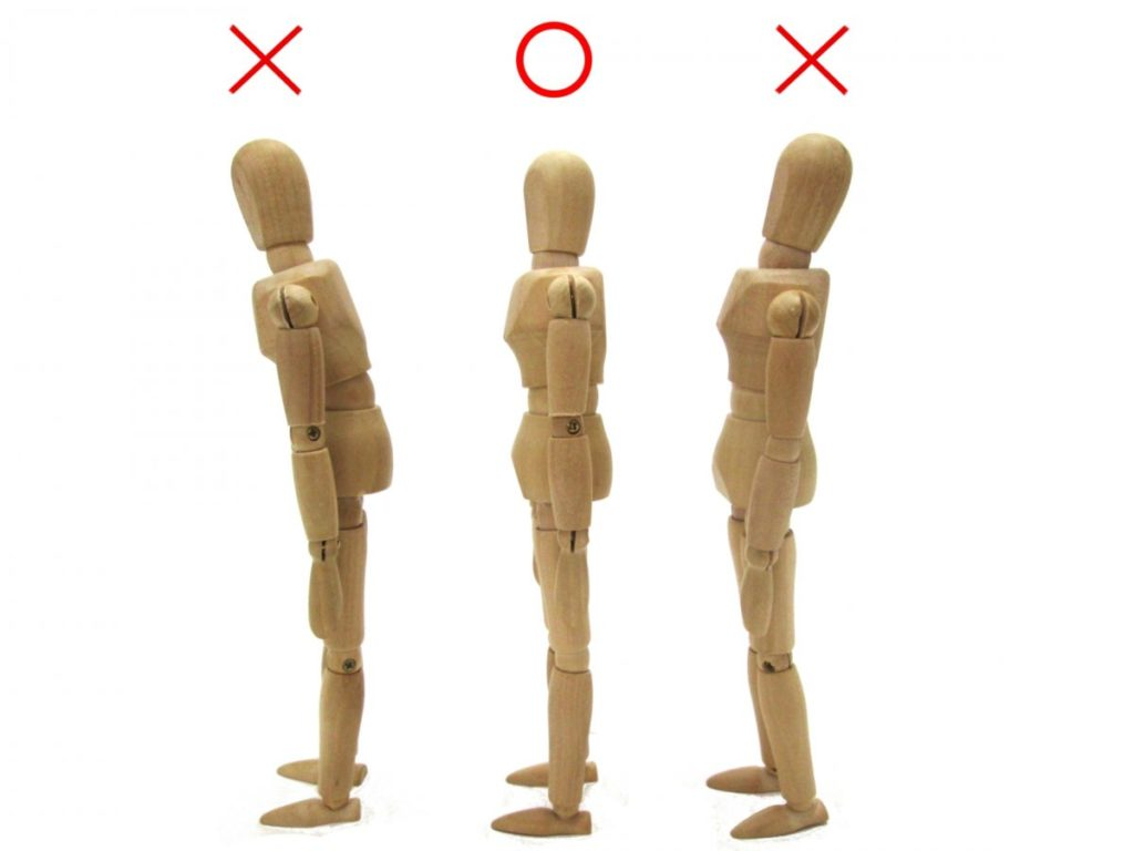姿勢 3体 人形