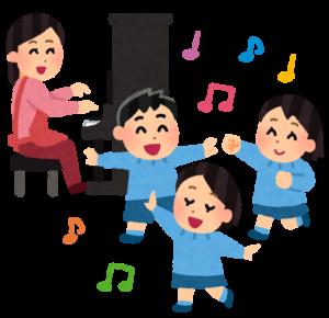 ピアノで踊る子