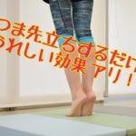簡単!気持ちはバレリーナ つま先立ちエクササイズ さらばO脚、冷え性、腰痛!